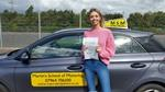 Lydia Davis first time driving test pass