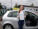 aleesha littlewood automatic car driving tests pass