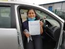 annsmaria passes driving test