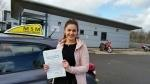 Elise Longland driving test pass