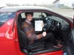 Louis psses Driving Test at Shrewsbury