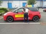 Mathew passes driving test