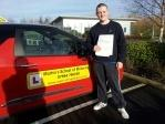 Jack Quirk passes driving test