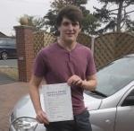 Liam psses driving test Shrewsbury