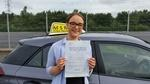 Driving test pass for Amy Willis