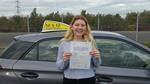 Demi Edwards driving test pass